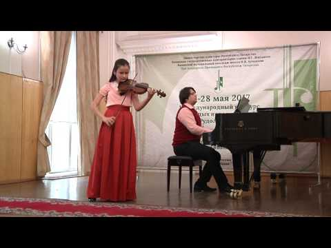 Т. Витали - Чакона (ред. Давида) исп. Гатина Нурия (12 лет), конц. Кошкин Артём
