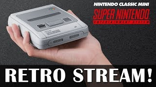 Let's Play the SNES Mini - Retro games on new hardware?!