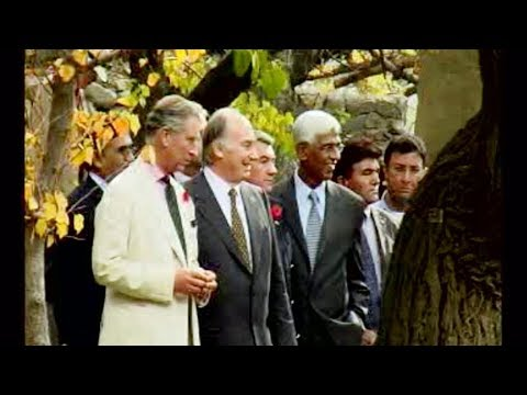 Prince Charles tours Aga Khan projects in Northern Areas of Pakistan