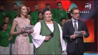 """Lietuvos balsai @ """"Jaunystės"""" choras atliko muzikinį kūrinį """"Mes laimingi"""""""