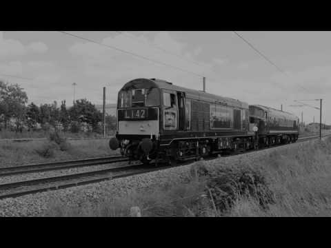ECML Peterborough area June 2017 inc Duchess of Sutherland, Flying Scotsman, Union of South Africa,