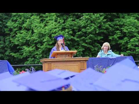Sophie Brown Brookline High School 2016 Commencement Speech