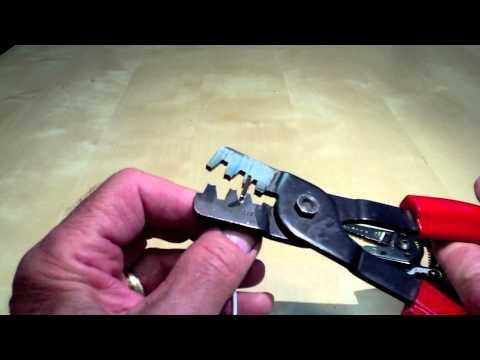Assembling a Molex Connector