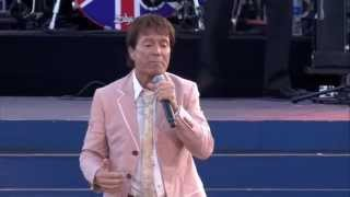 Cliff Richard sings