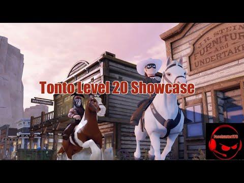 Tonto Level 20 Showcase (Disney Infinity 3.0) |