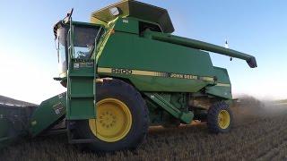 West Texas Wheat Harvest 2015