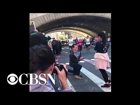 AJ - WATCH: NY Marathon Proposal