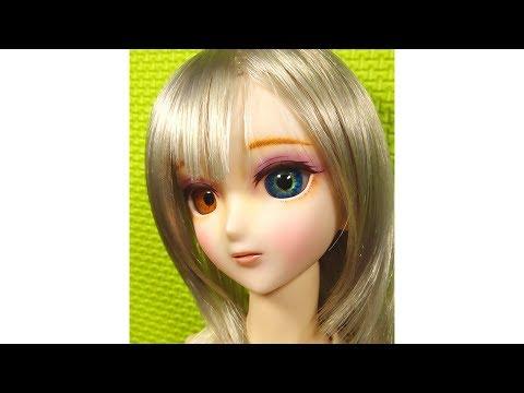 faceup doll doll makeup Dollfie Dream makeup bjdfaceup ドルフィードリーム ドールメイクの方法