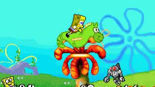 Game Boy Advance Longplay [204] SpongeBob SquarePants: Battle for Bikini Bottom