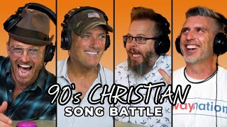 TobyMac and Michael W. Smith Guess 90's Christian Music! | Song Battle