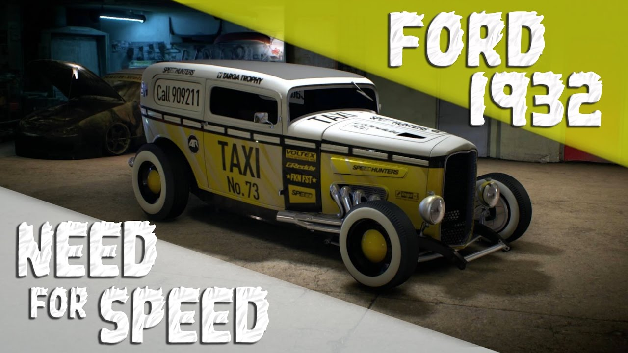 need for speed 2015 ps4 ford 1932 taxi customization. Black Bedroom Furniture Sets. Home Design Ideas