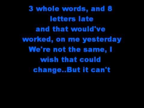 You Me At Six FireWorks Lyrics