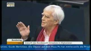 Eklat im Bundestag: Hans-Christian Ströbele (B90/GRÜNE) zum Rausschmiss der Linken thumbnail