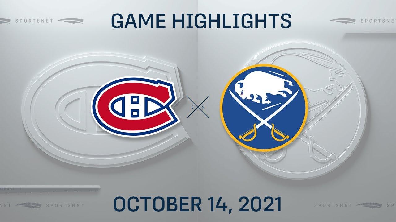 Download NHL Highlights | Canadiens vs. Sabres - Oct. 14, 2021