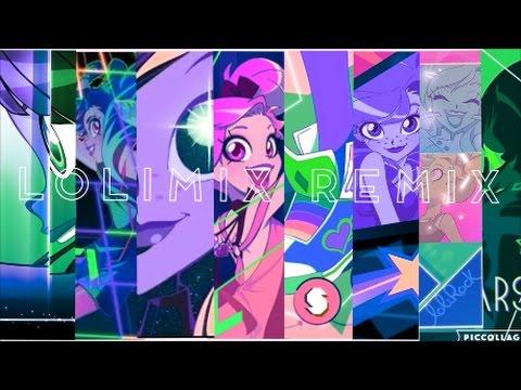 LOLIMIX Remix - Mashup De Tout Les Clips Lolirock (+7K Abonnés) || Dream Of LoliRock