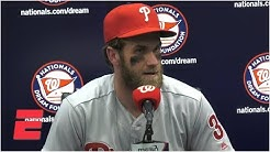 Bryce Harper: I have the city of Philadelphia behind me each and every night