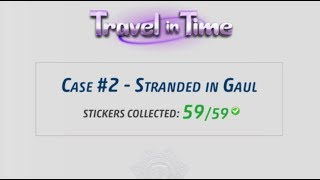 Criminal Case - Travel in Time, Case 2 - Stranded in Gaul
