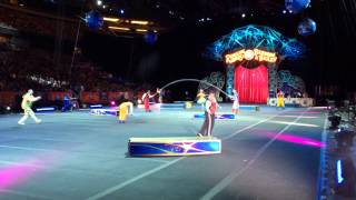Clown Jumprope preshow at Ringling Bros Barnum & Bailey Circus: Legends