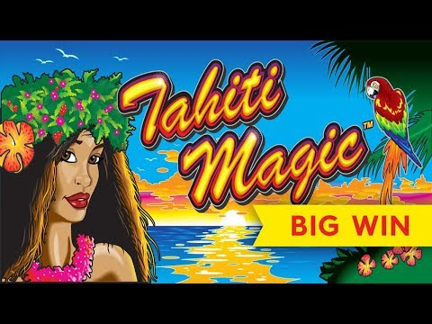 Tahiti Magic Slot - BIG WIN RETRIGGER BONUS! - 동영상