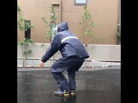 防水タイプ空調服ナダレス空調服レインスーツ