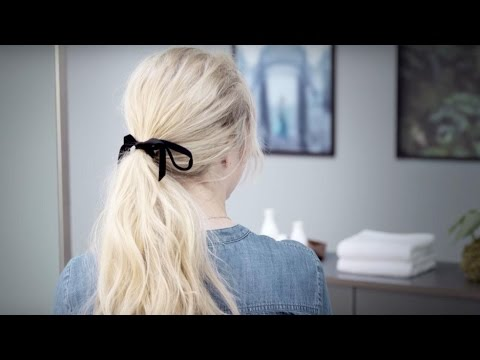 aveda-how-to-|-romantic-ponytail-with-dry-shampoo-&-thermal-protector