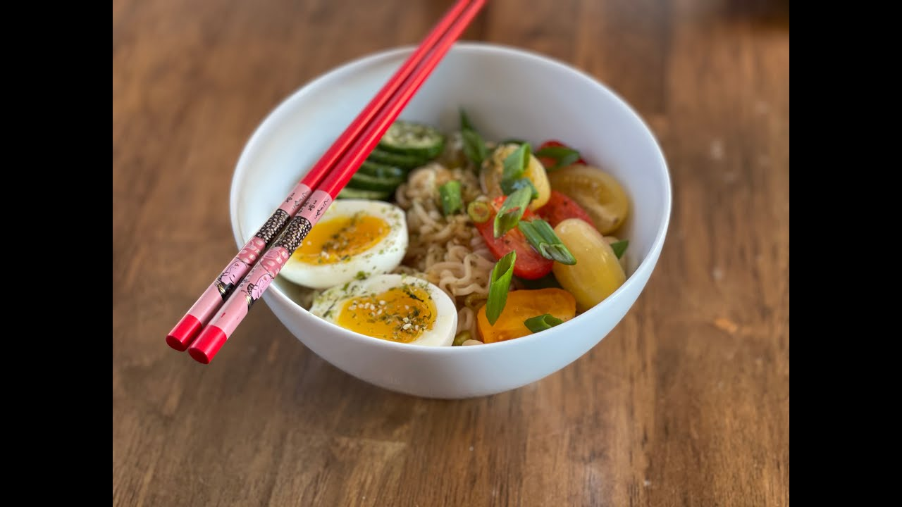 Cold Ramen made easy (and delicious)