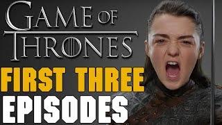 Game Of Thrones Season 7 Episodes 1-3 Titles Breakdown