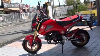 拘りの紅 グロムカスタム ホンダの新型125ccスポーツ GROM MSX125 GROM グロム honda grom msx125 ホンダ・グロム TAKEGAWA