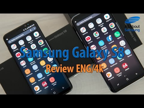 Samsung Galaxy S8 and S8+ review english 4k