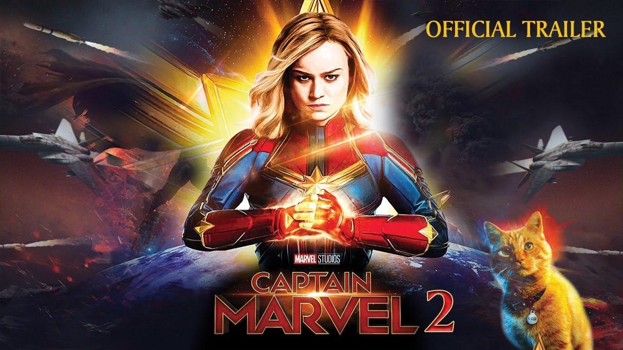Captain Marvel 20  Official Trailer   Conceptual Trailer   Brie Larson,Henry  Cavill   MCU Movie