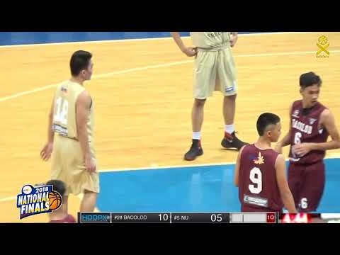 NBTC National Finals:  NATIONAL UNIVERSITY VS BACOLOD