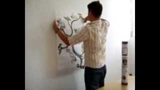 [BeDifferent] Дизайнерские наклейки на стены - инструкция по нанесению(Дизайнерские наклейки на стены - инструкция по нанесению 1. Прежде чем оклеить поверхность дизайнерской..., 2009-07-27T12:16:16.000Z)
