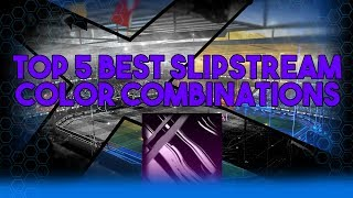 TOP 5 SLIPSTREAM COLOUR COMBINATIONS! | Rocket League Slipstream Color Combination PS4, PC, Xbox One