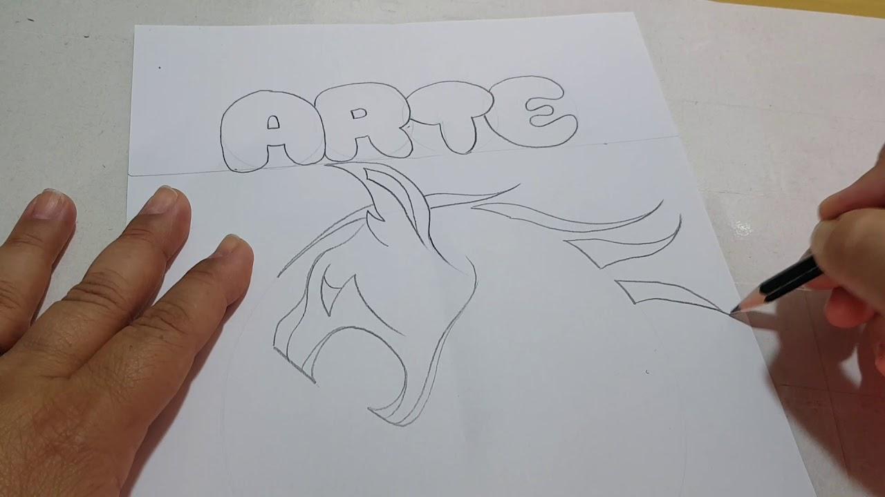 Capa Do Caderno De Arte 2018