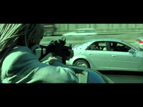 The Matrix Reloaded - Highway Fight Scene Part 1(HD) poster
