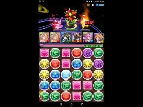Just Play it: Puzzle and Dragons opinions and review  Kali team EC run.