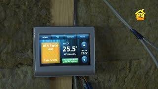 Воздушное отопление в каркасном доме // FORUMHOUSE(Больше информации по теме на http://www.forumhouse.tv. В этом строящемся каркаснике система воздушного отопления была..., 2014-09-12T13:52:20.000Z)