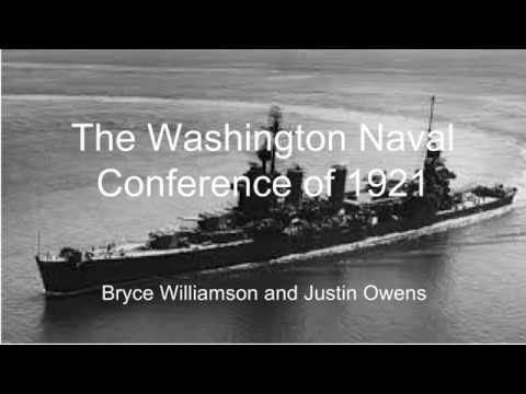 The Washington Naval Conference of 1921 (NHD State)