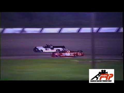 Madison International Speedway Oregon WI Mid West Trucks 8 20 99