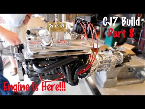 Getting the V8 Ready For the Jeep | Jeep CJ7 Build Part 8