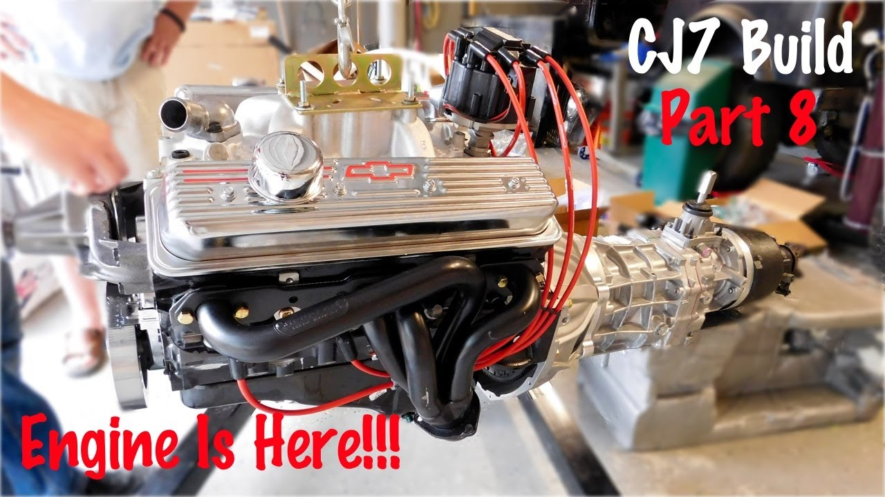 Jeep Cj V8 Swap Wiring Detailed Schematics Diagram Yj 350 Conversion Getting The Ready For Cj7 Build Part 8 Youtube Lights