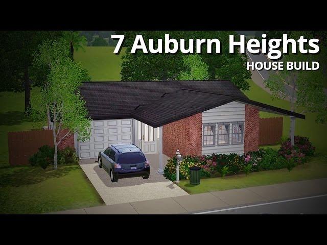 The Sims 3 House Building - 7 Auburn Heights