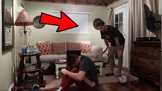 IM POSSESSED PRANK ON JAKE DUFNER (HE CALLED THE COPS)