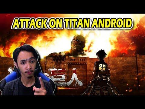 ATTACK ON TITAN VERSI ANDROID ! - 동영상