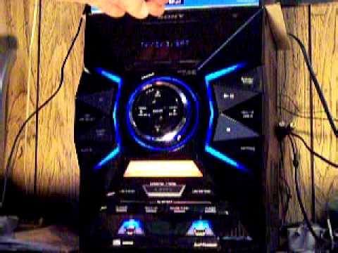 Sony Lbt Gpx77 1800w Mini Music System Is JUNK DO NOT BUY