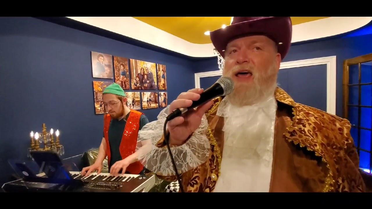 Purim 2020 Michoel shnitzler and Avrum dovid Lunger
