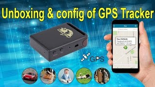 Unboxing & config of TK102B Car GPS Tracker