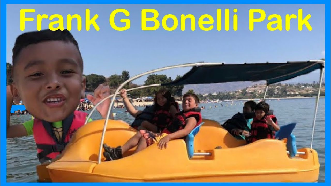 Frank G Bonelli Park Outside Adventure with Family - YouTube