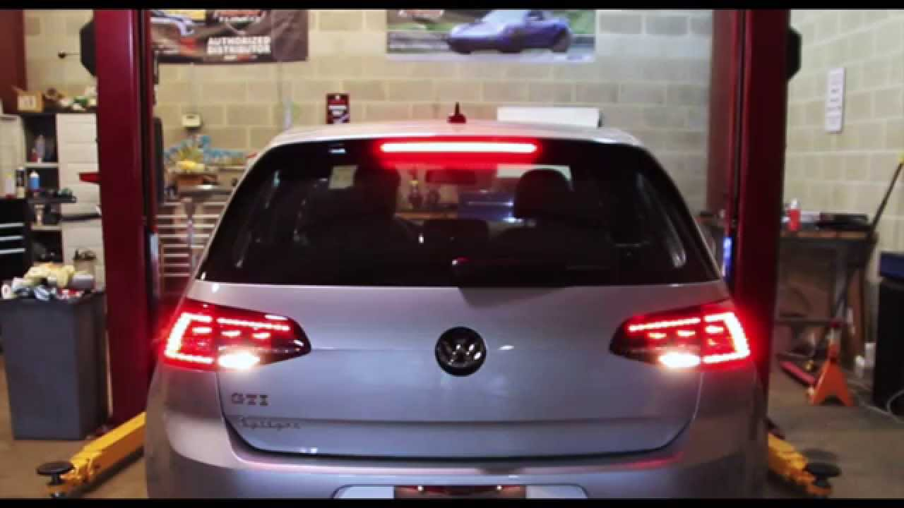 maxresdefault mk7 led tail light demo youtube Fog Light Wiring Diagram at panicattacktreatment.co