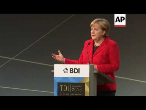 Merkel on trade agreement, refugees